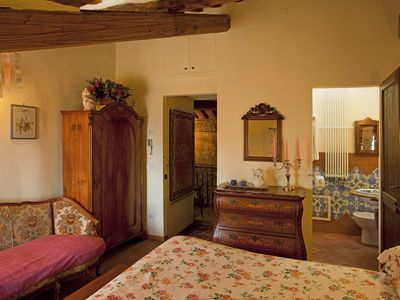 Photo for Delle Rose Room: Refined B & B in Manciano 10 min. from the thermal baths of Saturnia
