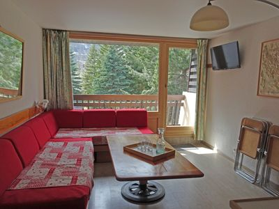 Photo for 50m2 duplex apartment at the foot of the slopes