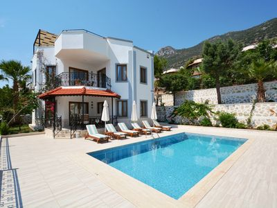 Photo for 3 Bedroom Villa with Private Pool  and Sea Views, near the Centre of Kalkan