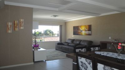 Photo for great apt of 3 rooms with suite, and view and near brave beach, north of the island