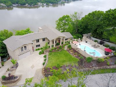 Photo for Breathtaking, panoramic view includes a private pool!