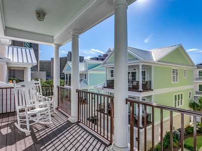 Photo for Beautiful Five Bedroom Beach House with Elevator in the Golden Mile Section!