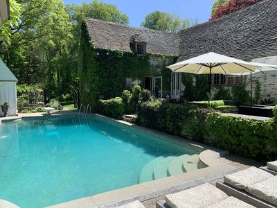Photo for Summer French Retreat-1 Hr NYC-Heated Pool-10 min beach-TV/Film location