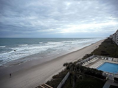 Photo for OCEAN FRONT LOCATION   SEE SUNRISES AND LAUNCHES FROM THE PATIO