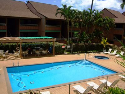 Photo for Kihei Bay Vista #D-208 1Bd/1Ba, Great Location Steps from the Beach. Sleeps 4