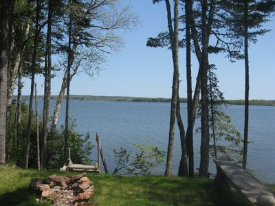 Photo for Oceanfront Waterfront  2 Bd House, Secluded 11 Acres, Bar Harbor Area