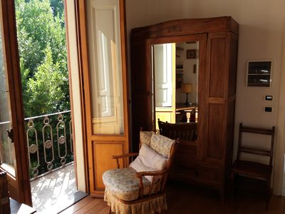 Photo for For single: green two-room flat in a ladylike villa dowtown Florence