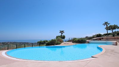 Photo for House 4 people - Sea view - Pool - WiFi - Les Issambres