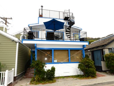 Photo for Spacious 2 Story Home, Outdoor Deck, 2 Blocks to Beach & Shops, WIFI