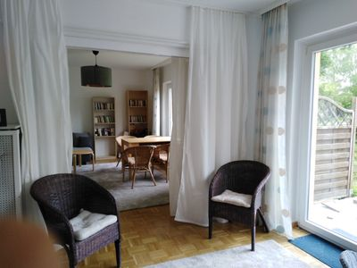 Photo for Bright apartment, 77 sqm, 2-4 persons, terrace, garden in the countryside, near the city center