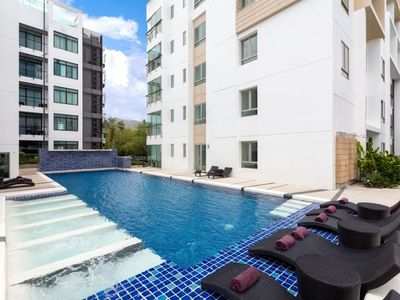 Photo for Kamala Regent C101 - Pool view apartment with great facilities, close to beach