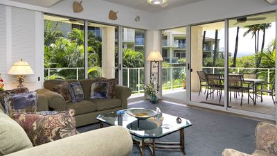 Spacious Living Room with Wrap-Around Lanai.  You will immediately feel at home.