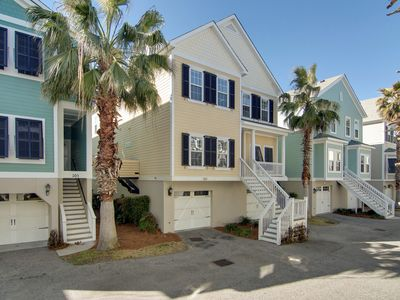 Photo for Family-friendly townhouse w/shared pool, marsh and river views, and jetted tub