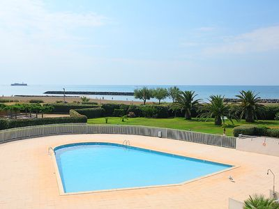 Photo for Feet in the water, breathtaking view, Rochelongue, Cap d'Agde