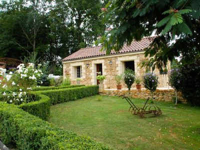 Photo for QUIET and REST: GITE *** with SWIMMING POOL near SARLAT, DORDOGNE PERIGORD BLACK