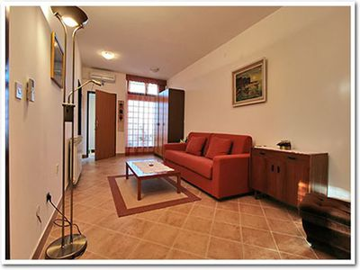 Photo for Apartment 236 m from the center of Rovinj with Internet, Air conditioning, Parking, Balcony (641913)