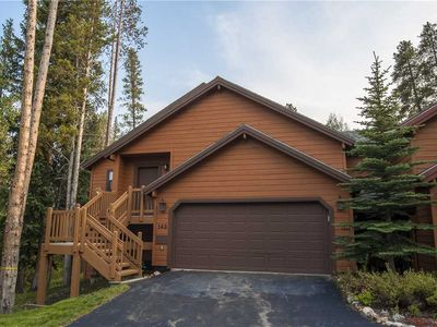 Photo for 143 Park Forest: 3 BR / 3 BA townhome in Breckenridge, Sleeps 8