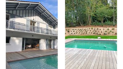 Photo for 10 mins from Biarritz, quality villa with heated pool