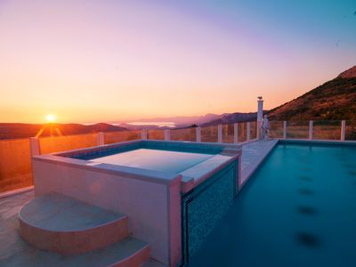 """Photo for VILLA NINO-""""Heaven on Earth""""-with heated pool and stunning view"""