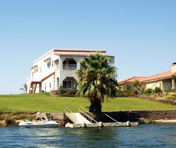 Photo for River House on the Water! -- Bring Your Water Toys!  Large Home, Family Oriented
