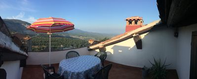 Photo for Roof terraces Rustico with sea view