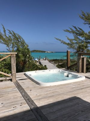 Photo for Intimate Luxury on Bahamas Best Beach - Blue Point Cottage Beach House