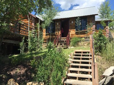 Photo for Hilltop Mountain Retreat on 5 acres but downtown!