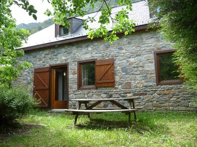 Photo for Comfortable house in stone, near Piau Engaly and Néouvielle reserve.