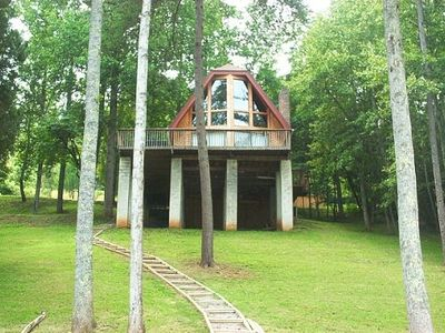 Photo for Beautiful Lakefront Home-- Flat Hollow