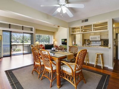 Photo for 2 bedroom with a loft, 2-bath, end unit townhouse in the Turnberry Village complex of Palmetto Dunes