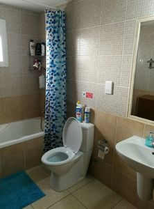 Photo for The Carolyn villa is situated in a cul-de-suc area. It is very quite, relaxing and it has a wonderful sea view , the see is just 100 meters from the house. Ayia Napa center with all its night life style , is only 5 minutes drive by car.