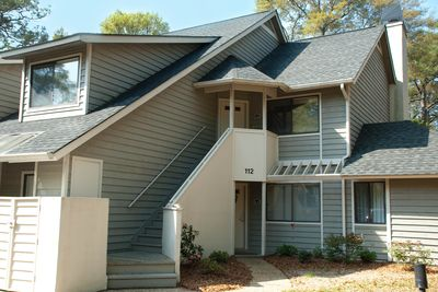 Exterior - -Our unit is on the second floor