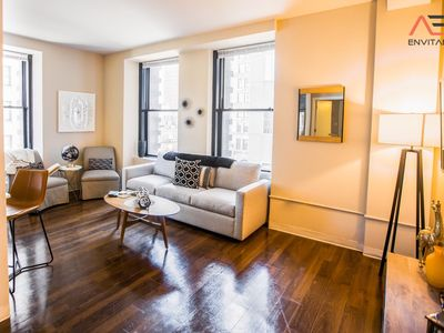 Photo for FREE PARKING | 2BR/2BA Brand New Distinguished Luxury Suite w/ Gym by ENVITAE
