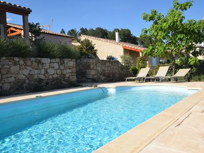 Photo for Charming Villa at Joyeuse France with Private Swimming Pool