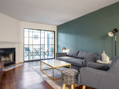 Photo for Airy West Hollywood 1BR w/ W/D, nr. Melrose & W 3rd St, by Blueground