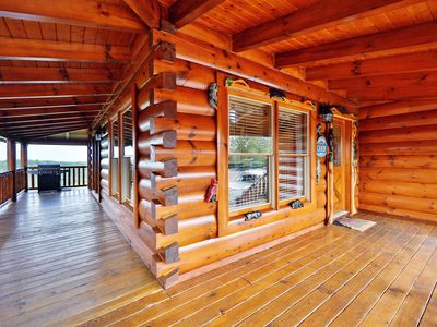 """Photo for """"Celebration Lodge"""" stands at the ready to host your vacation celebration!"""
