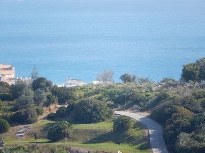 View to Duquesa golf course from terrace