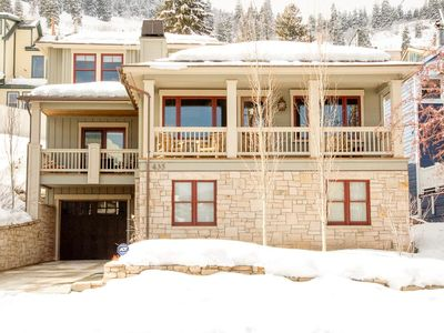 Photo for Newly renovated Old Town ski villa with hot tub and wood fireplace — walk to Town Lift