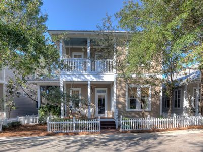 Photo for Out of Bounds - 30A Beachside Cottage in the Heart of Seagrove Beach