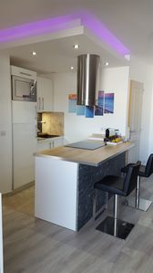 Photo for Design apartment, air conditioned, near NICE