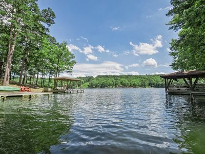 Photo for WIFI, HDTV - A nicely furnished three bedroom, 2 bath, 2 level end unit town home on Lake DeSoto. Th