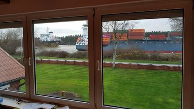 Photo for Apartment with a beautiful view of the Kiel Canal