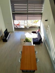 Photo for Bright Loft / Penthouse Triplex Penthouse with pool, parking and 2 large terraces