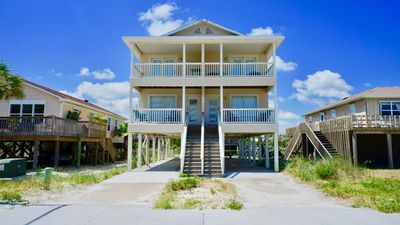 Photo for PET FRIENDLY, DIRECT BEACH ACCESS, FANTASTIC VIEWS, WALK TO DINING, SHOPPING, & FUN! - BEACHBALL PROPERTIES