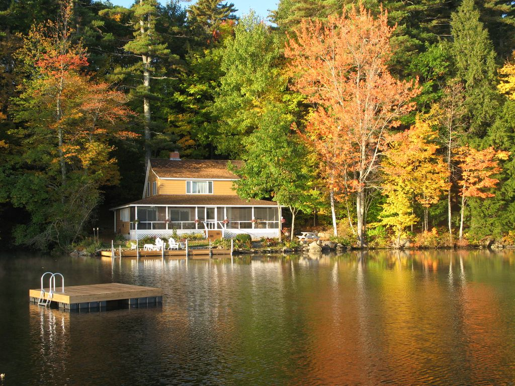 Incredible Long Lake Maine Family Vacation Cottage