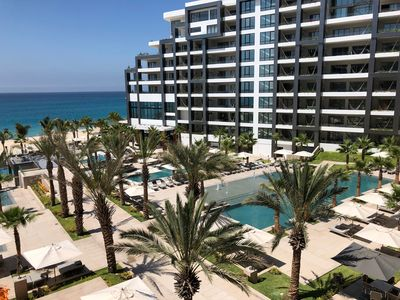 Photo for SPEND CHRISTMAS WEEK IN LUXURY 2 BEDROOM SUITE. 5-STAR BEACH RESORT CABO 1980 SF