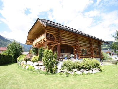 Photo for Unique log house with Wellness area, centrally located in the Lungau valley