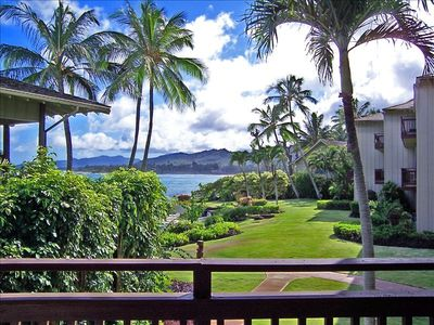 Photo for Lanikai Resort   KAUAI  Beachfront Heated Pool, Spacious 2 Master Bdrms!!!