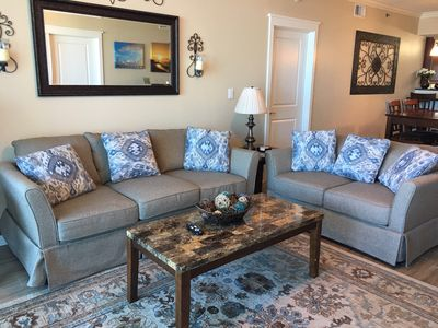 Photo for Rise Above It All! A612 Gorgeous Gulf & Courtyard Views...Includes Beach Service