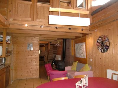 Photo for home portrays chalet at 1100 m altitude